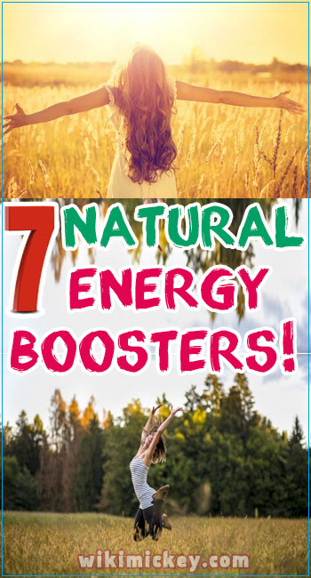 7 Natural energy boosters! 3