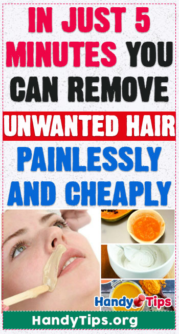 In just 5 minutes you can remove unwanted hair painlessly and cheaply 2