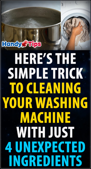 Here's the simple trick to cleaning your washing machine 5