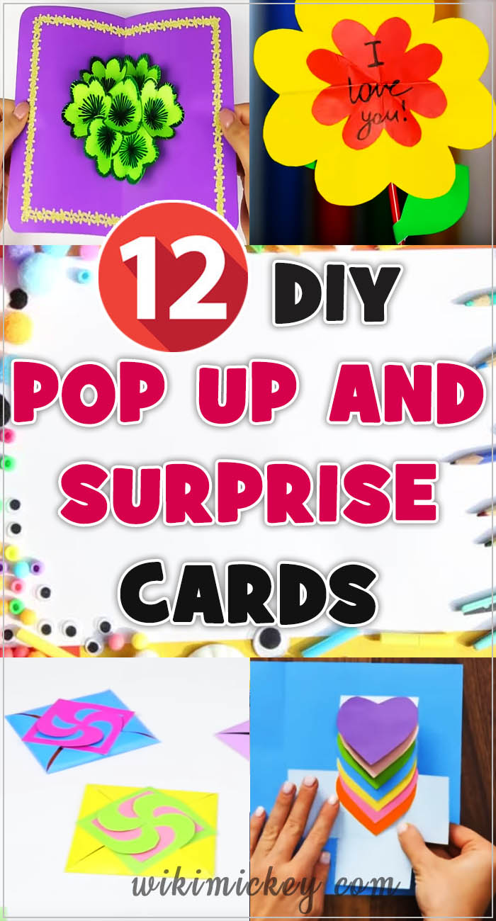 12 DIY Pop up and Surprise Cards 2