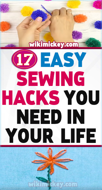17 Easy sewing hacks you need in your life! 3