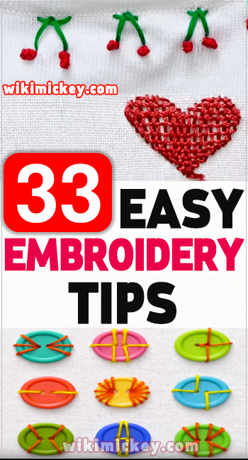 33 Easy embroidery tips even you will want to try asap! 3