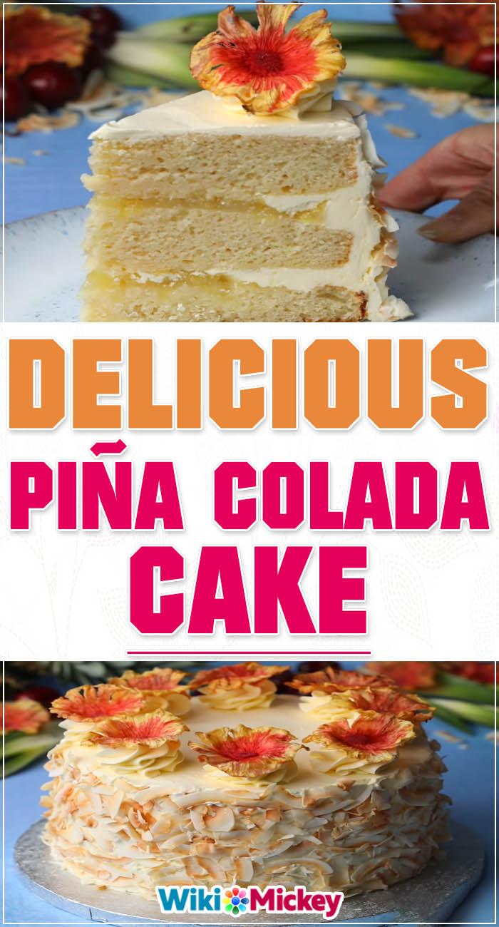 Piña Colada Cake 3