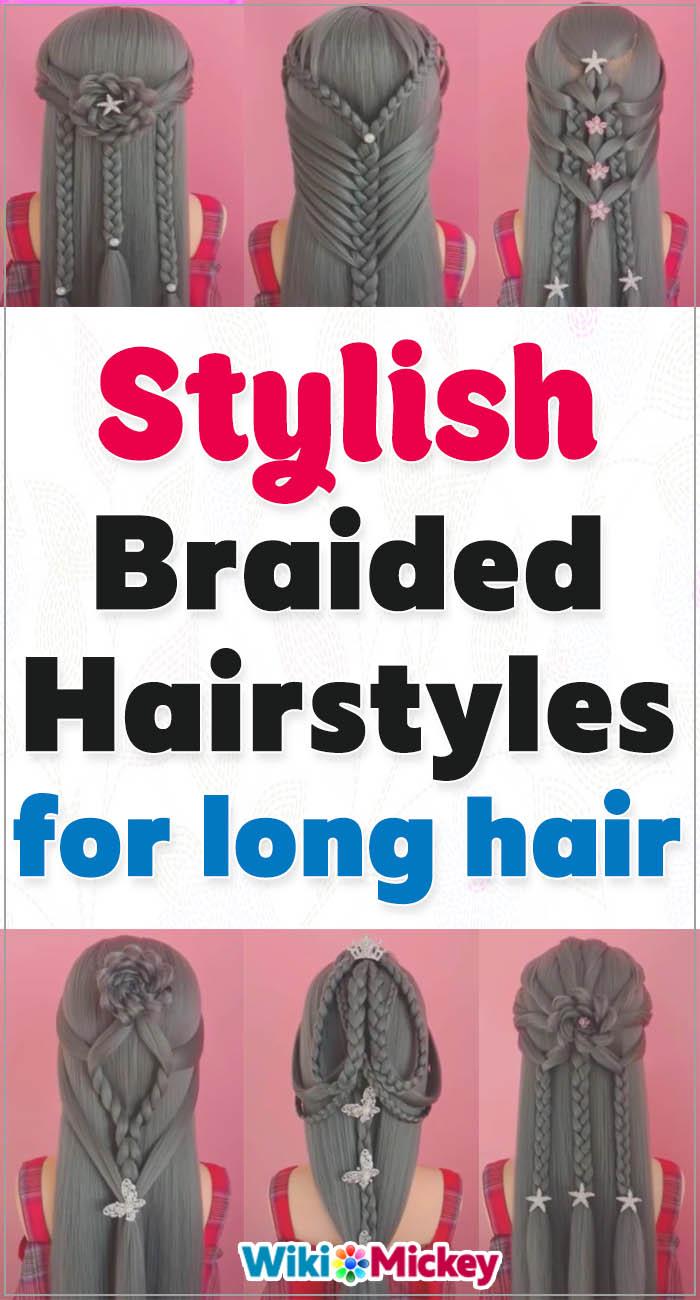 Stylish Braided Hairstyles Compilation 3