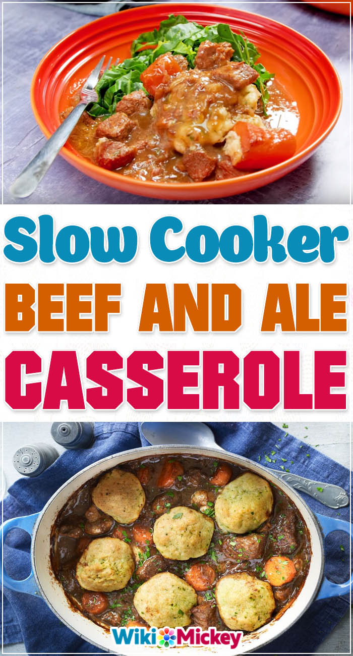 Slow cooker beef and ale casserole 2