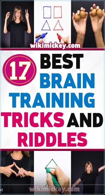 17 Best brain training tricks and riddles! 1