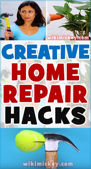 Creative home reapir hacks and daily life tips! 2