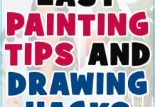 Easy Painting Techniques and Drawing Hacks 2
