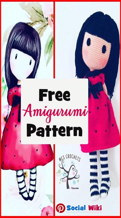 Free Crochet Pattern! - Free Amigurumi pattern... 6
