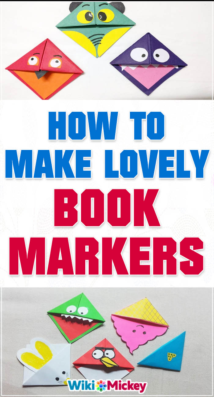 How to make Lovely Origami Book Markers! 2