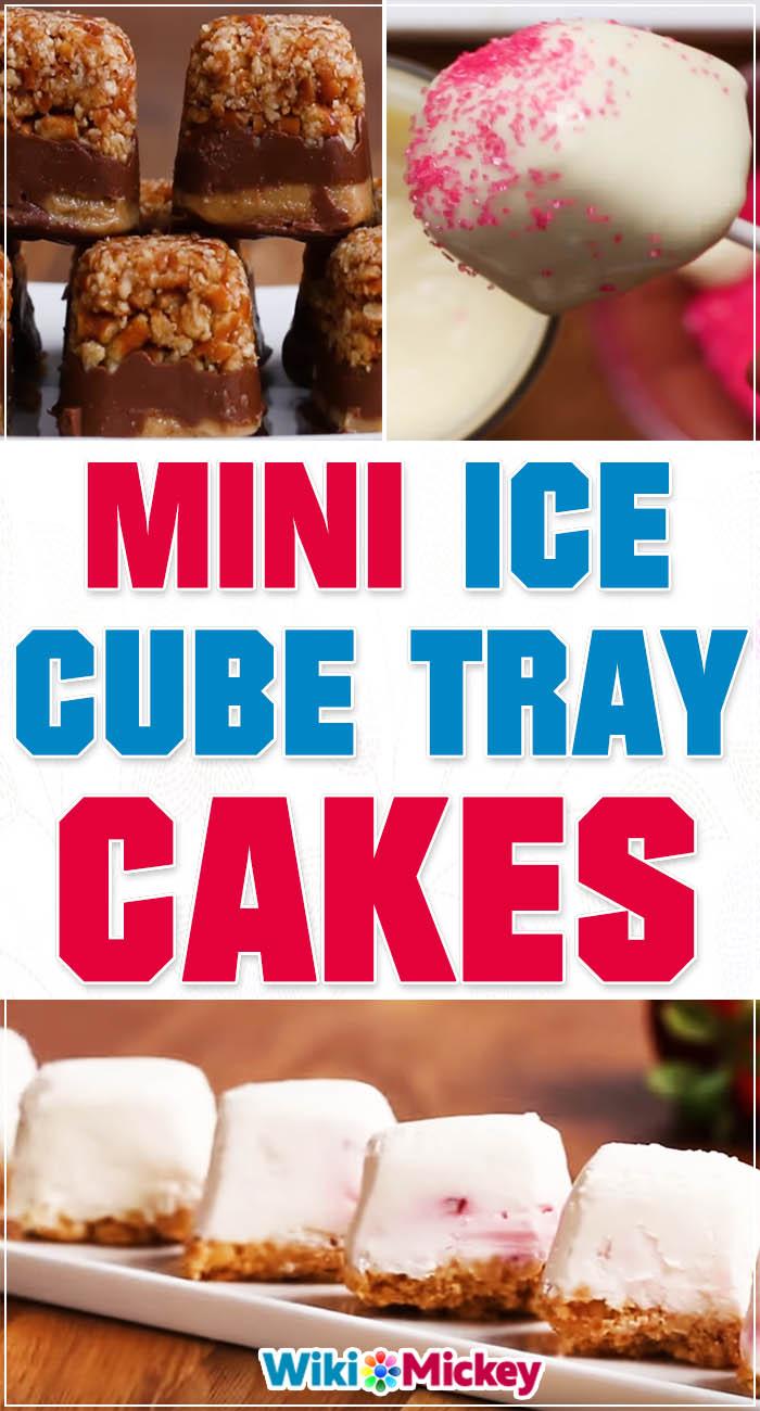Mini Ice Cube Tray Cakes 1