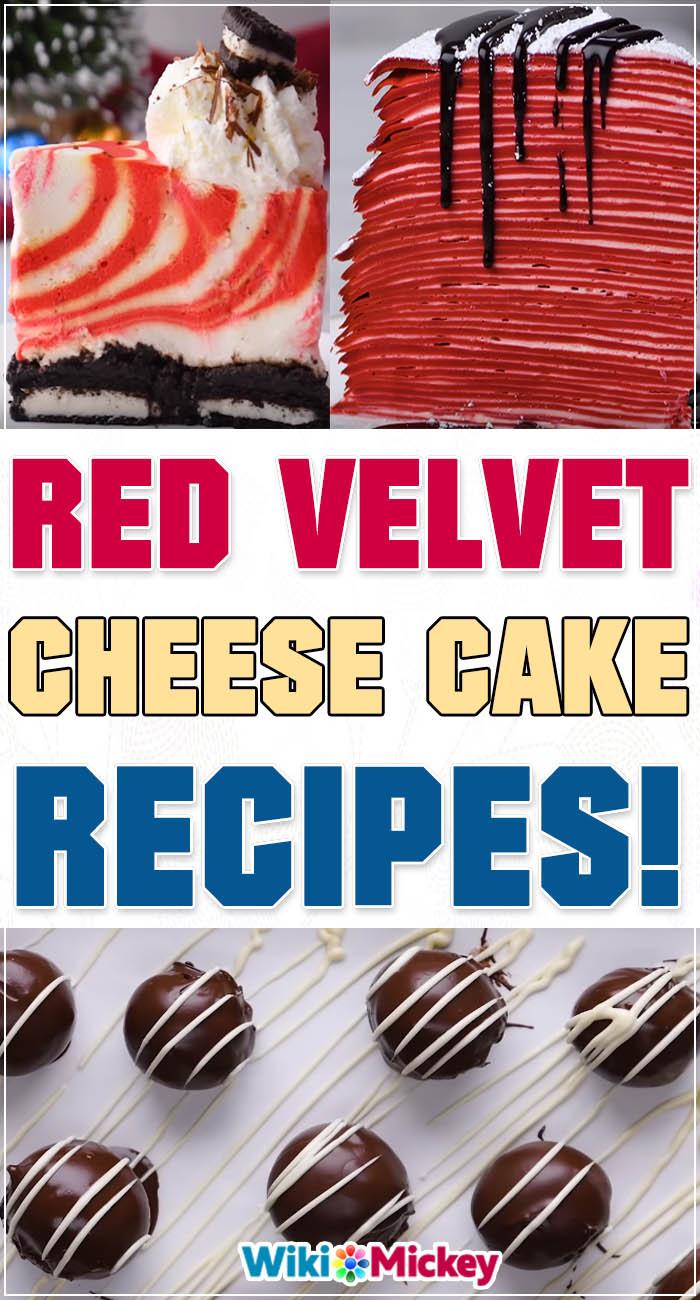 Red Velvet Cheesecake Recipes! 4