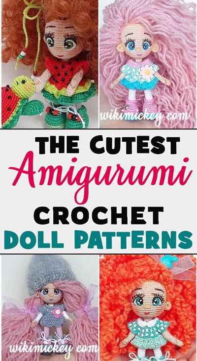 Amigurumi Doll Crochet Models 70