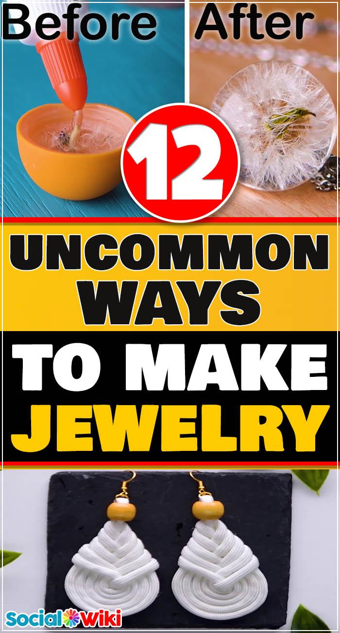 12 Uncommon Ways to Make Jewelry! 2