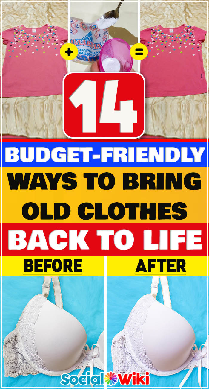 14 Budget-Friendly Ways to Bring Old Clothes Back to Life 2