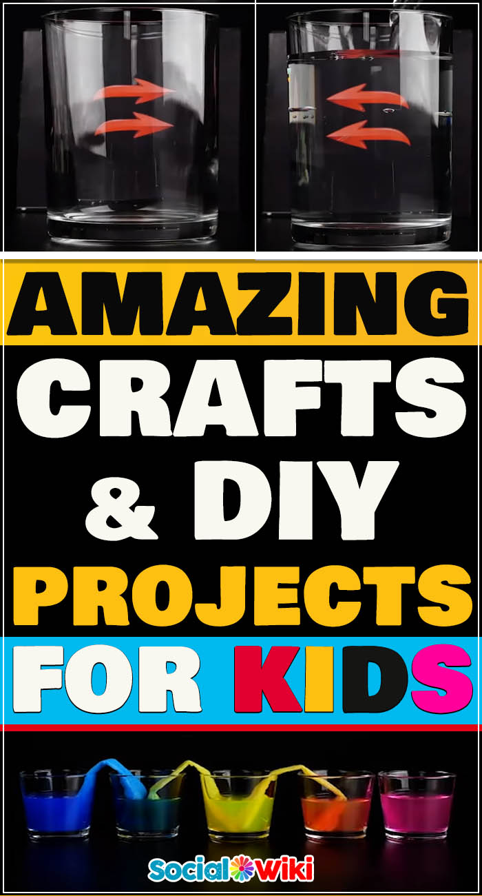 Amazing Crafts and DIY projects for Kids! 2