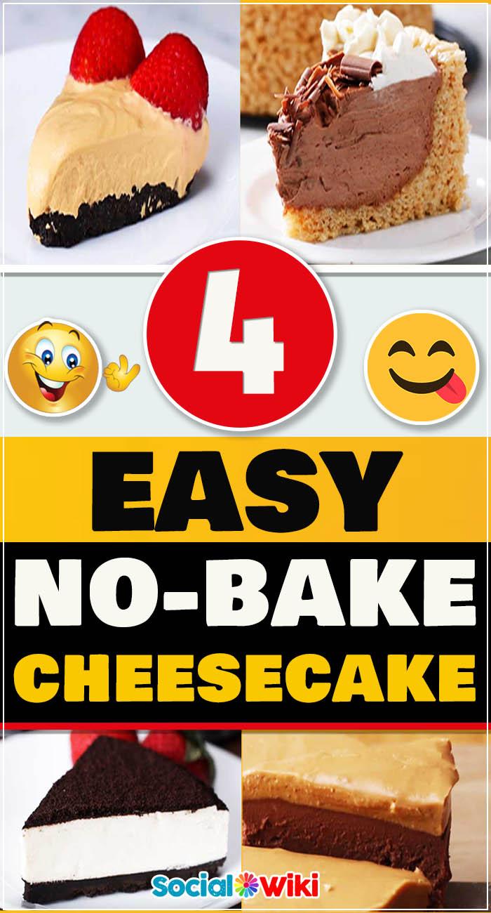 4 Easy No-Bake Cheesecake 5