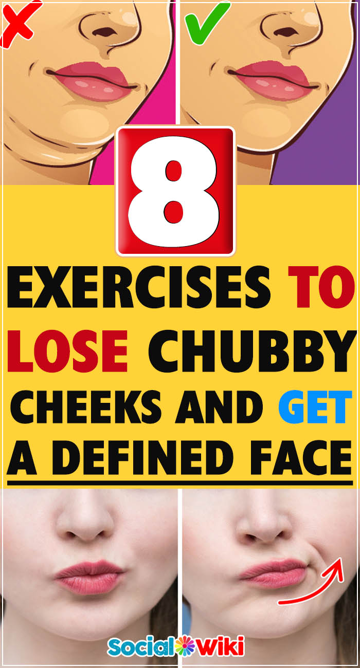 8 Exercises to Lose Chubby Cheeks and Get a Defined Face 2
