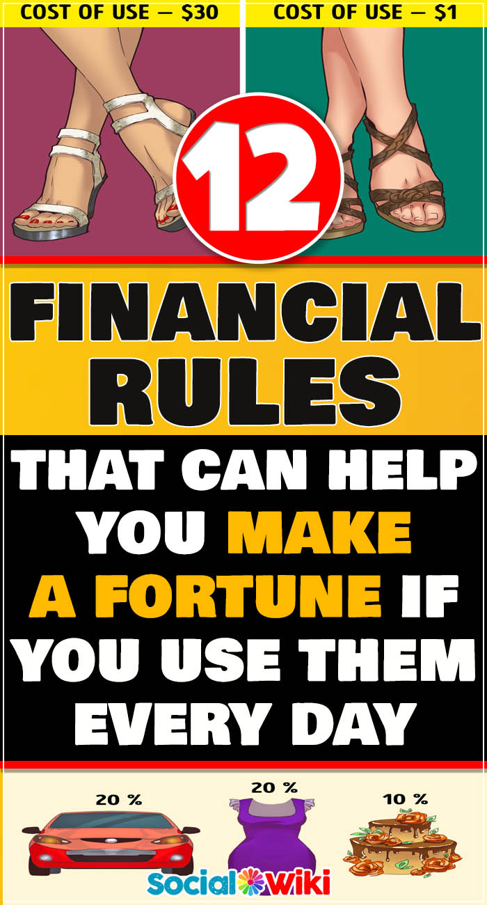 12 Financial Rules That Can Help You Make a Fortune If You Use Them Every Day 8