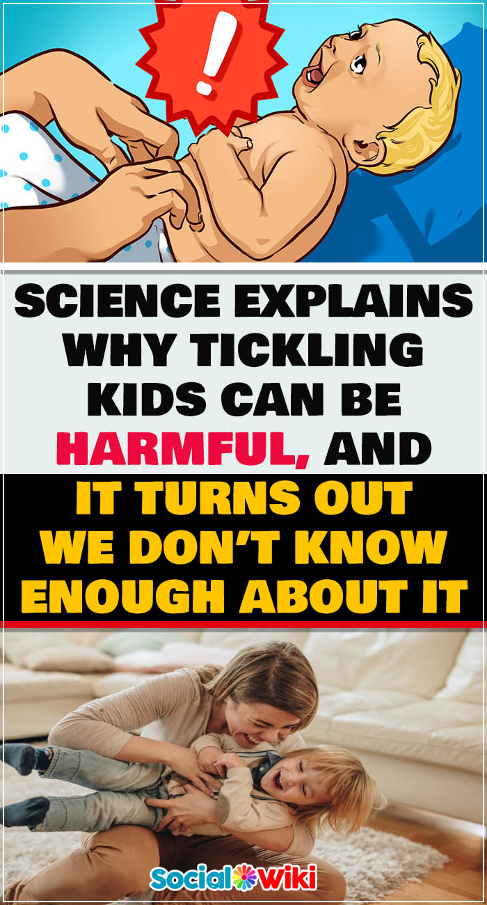 Science Explains Why Tickling Kids Can Be Harmful 1